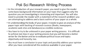 research paper workshop research topics in development and 4 poli
