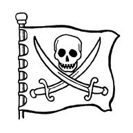 Simpele Piraat Voor De Jongere Kids