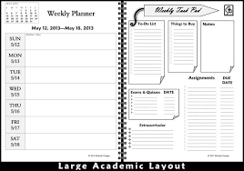 Best Academic Planner For College Students Daily Planner For College Students Barca Fontanacountryinn Com