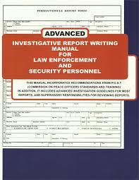 Original Report Writing Original Report Writing