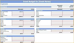 How To Make An Excel Spreadsheet For Budget Wedding Budget Excel Spreadsheet Template Starmail Info
