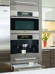 miele built in coffee machine houzz