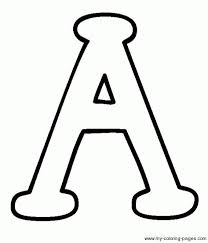 Letter A Template Bubble Letters A Letter Template Intended For Bubble Letter A