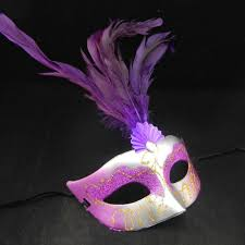 Decorating Masquerade Masks Zonaflor 60Pcs Feathered Venetian Masquerade Masks Half Face Lily 32