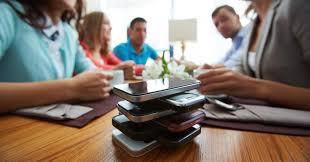 Minimize electronic device usage