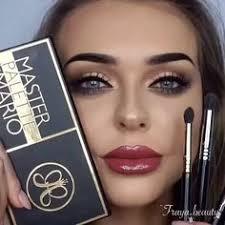 fraya beauty eyes master palette by mario lips raisin gloss from the