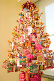 the office christmas ornaments. christmas tree, bare orange balls, card the office ornaments