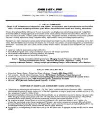 click here to download this it project manager resume template httpwww examples of project manager resumes