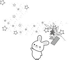 七夕のイラスト無料イラストフリー素材