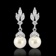 bridal ivory pearl drop chandelier earrings dangle vintage pearl earrings crystal bridal earrings earrings bridesmaid long