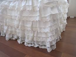 dust ruffles bed skirts. Simple Skirts Image Of Linen Ruffle Bed Skirt In Dust Ruffles Skirts E
