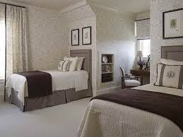 Custom Picture Of Contemporary Twin Bed Guest Bedroom Decorating Ideas  Decorating For Guest Bedrooms Interior Design Ideas