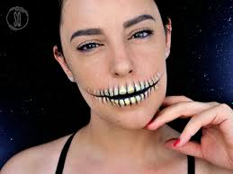 easy skeleton mouth makeup tutorial easy skeleton mouth makeup tutorial