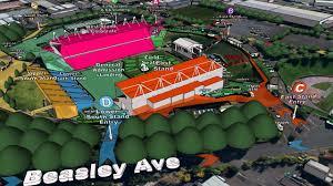 Map Mt Smart Stadium Fleetwood Mac Concerts 21 22 November 2015