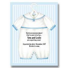 Baby Onesie Boy Pregnancy Announcements Baby Cachet