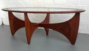 Teak And Glass Coffee Table Stunning G Plan Oval Astro Teak Glass Coffee Table Whittaker