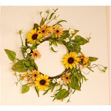 internet 305530913 22 in sunflower wreath