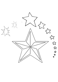 Small Picture Free Online Christmas Star Colouring Page Kids Activity Sheets