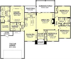 house plan 142 1092 4 bdrm 2 000 sq ft acadian home