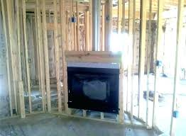 fireplace wood frame outdoor
