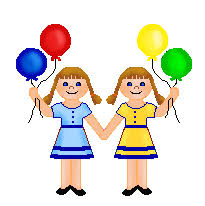 Image result for twins clipart