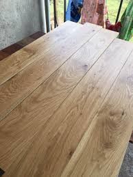 china 150mm wide natural european oak solid hardwood flooring