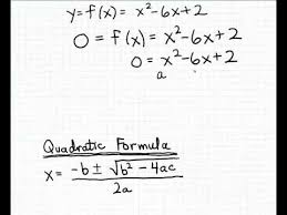 finding the x intercepts using the