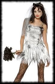 y halloween costumes zombie bride