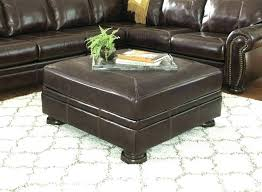 white leather coffee table ottoman coffee table square top furniture white leather ottoman leather coffee table