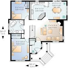 house plan in pdf awesome two bedrooms with angled entry dr
