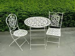 metal garden bistro set stunning metal patio bistro set very nice vintage classic outdoor decorative metal