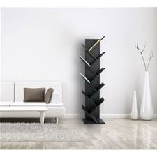 Modern office shelving Mid Century Modern Mobili Rebecca Shelving Unit Shelf Rack 10 Shelves Wood Black Modern Office Bedroom Ohmegroup Ingrosso Prodotto Re4654 Mobili Rebecca Shelving Unit Shelf Rack 10