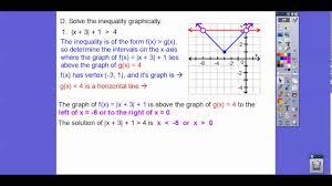 solving absolute value inequalities module 2 3 part 1