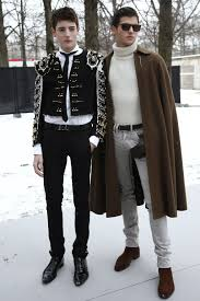 Harry Brant and Peter Brant II
