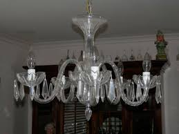 waterford crystal chandelier 5 arm carina style