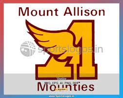University Logo Embroidery Designs Mount Allison Mounties 1975 2010 Atlantic University Sport College Sports Vector Svg Cricut Logo Spln002820