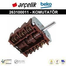 Arçelik Beko Altus Fırın KOMUTATÖRÜ Şalter Anahtar 263100011 Fiyatları ve  Özellikleri