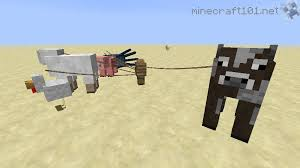 minecraft fence post recipe. A Horse Tied To Fence Post By Leash. Minecraft Recipe