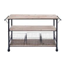 Walmart Utility Shelves Fascinating Utility Cart Wheels Metal Framework 60 Wood Shelves 60 Baskets Decor