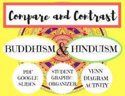 Compare And Contrast Hinduism And Buddhism Chart Buddhism And Hinduism Pdf Presentation Graphic Organizer Venn Diagram