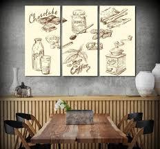 restaurant wall art kitchen wall decor