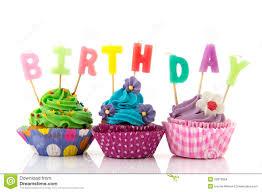 birthday cupcake. birthday cupcake stock photo, picture and royalty free image .