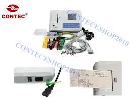 <b>CONTEC</b> ECG300G Digital 3 Channel 12 Lead <b>Electrocardiograph</b> ...