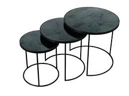 coffee table small nest of tables nesting bedside unique round glass large acrylic un