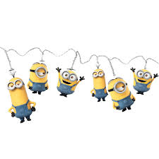 Minion Bedroom String Lights Minions Star Wars Despicable Me Minions Kids Bedroom