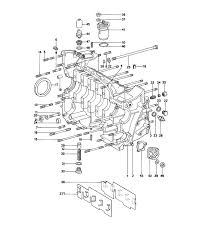 porsche 914 parts 914 6 crankcase right