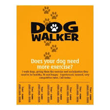 Dog Flyer Template Free Dog Walking Flyers Templates Image Search Results Animals