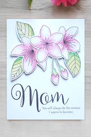 Mother Day Card 15 Homemade Mothers Day Cards Easy Mothers Day Card Diys