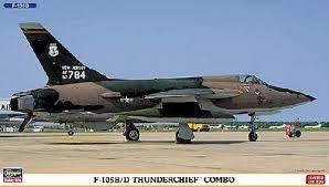 Hasegawa 02053 - 1/72 F-105B/D Thunderchief Combo