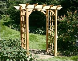 Small Picture Garden Arbor Plangarden Trellis Arch Plans Japanese Garden Design